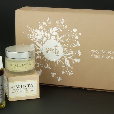 GIFT-BOX IMMORTELLE-LAVENDER