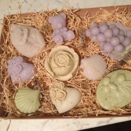 LAVENDER-SAGE SOAP BOX